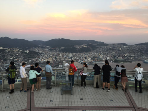 Nagasaki observation deck